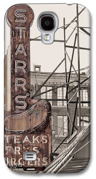 Stars Steaks Frys And Burgers Galaxy S4 Case by JC Findley