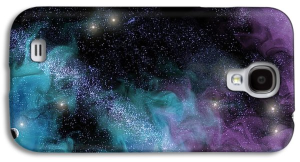 Starscape Nebula Galaxy S4 Case by Antony McAulay