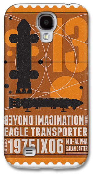 Science Fiction Galaxy S4 Cases - Starschips 13-poststamp - Space 1999 Galaxy S4 Case by Chungkong Art