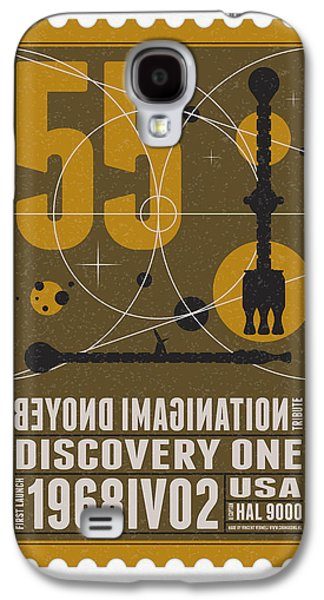 Starschips 55-poststamp -discovery One Galaxy S4 Case by Chungkong Art