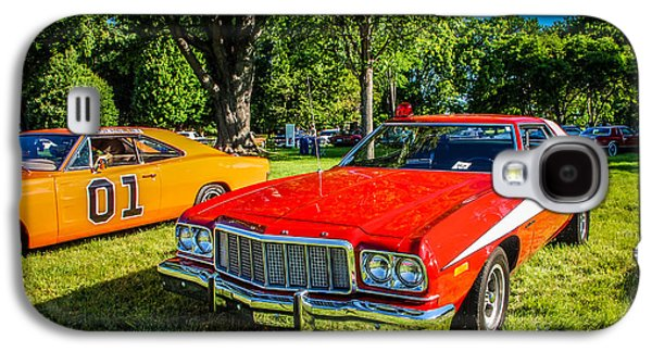 Dukes Of Hazard Show Galaxy S4 Cases - Starsky and Hutch Ford Gran Torino Galaxy S4 Case by Grace Grogan