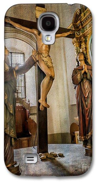 Pablo Galaxy S4 Cases - Statue of Jesus Galaxy S4 Case by Adrian Evans