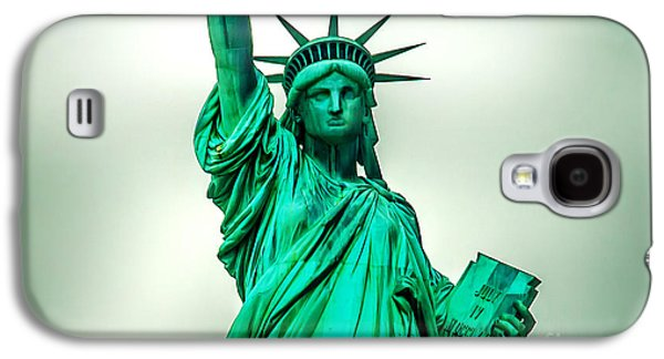 Statue Galaxy S4 Cases - Statue Of Liberty Galaxy S4 Case by Az Jackson