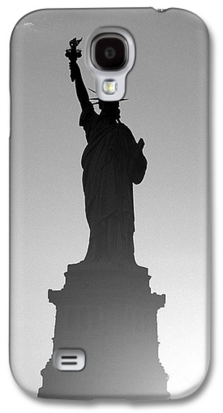 Recently Sold -  - Landscapes Photographs Galaxy S4 Cases - Statue of Liberty Galaxy S4 Case by Tony Cordoza