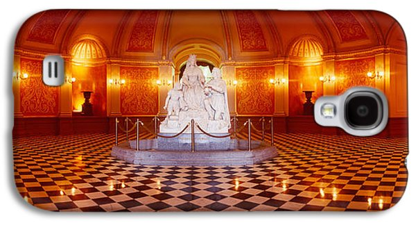 Statue Surrounded By A Railing Galaxy S4 Case by Panoramic Images