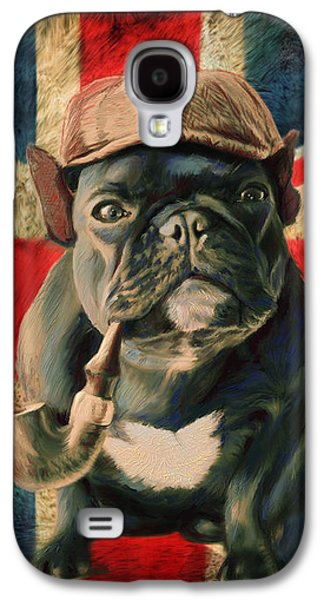 Stay Calm And Carry On Galaxy S4 Case by Enzie Shahmiri