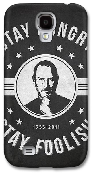 Inc Galaxy S4 Cases - Stay Hungry Stay Foolish - Dark Galaxy S4 Case by Aged Pixel