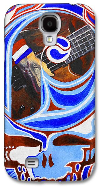Phillies Paintings Galaxy S4 Cases - Steal Your Phils Galaxy S4 Case by Kevin J Cooper Artwork