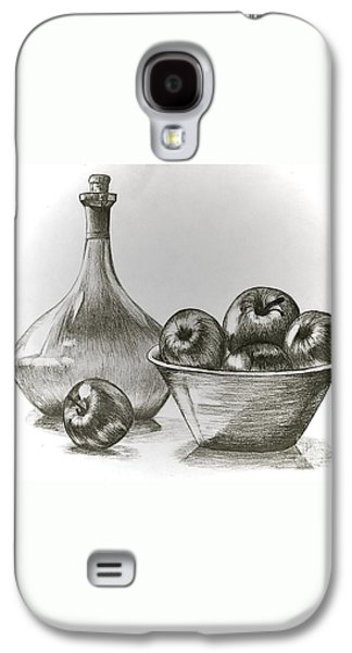 Stealing Of The Orchard Galaxy S4 Case by Linda Simon