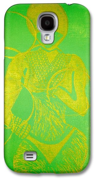 Colorful Abstract Reliefs Galaxy S4 Cases - Stealth  Galaxy S4 Case by Tarynn Jackson