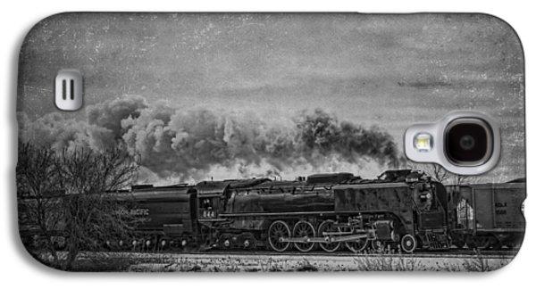 Jeff Swanson Galaxy S4 Cases - Steam Engine Galaxy S4 Case by Jeff Swanson