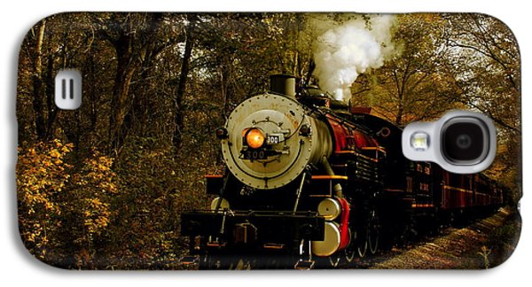 Caboose Photographs Galaxy S4 Cases - Steam Engine No. 300 Galaxy S4 Case by Robert Frederick