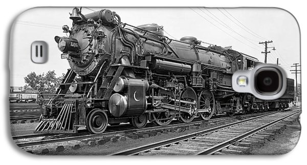 Steam Locomotive Crescent Limited C. 1927 Galaxy S4 Case by Daniel Hagerman