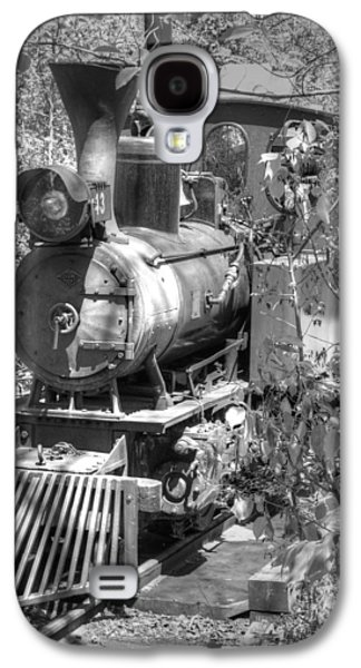 Mechanism Galaxy S4 Cases - Steam locomotive old West v3 Galaxy S4 Case by John Straton