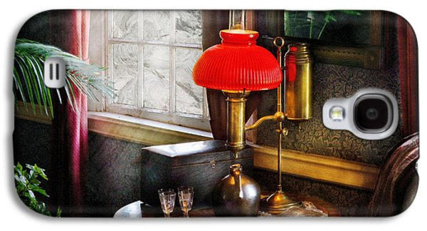 Gas Lamp Photographs Galaxy S4 Cases - Steam Punk - Victorian Suite Galaxy S4 Case by Mike Savad
