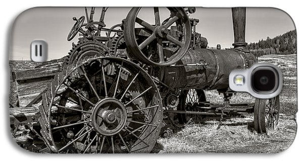 Machinery Galaxy S4 Cases - Steam Tractor - Molson Ghost Town Galaxy S4 Case by Daniel Hagerman
