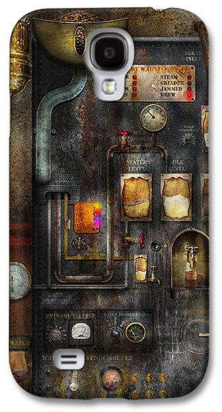 Steampunk - All That For A Cup Of Coffee Galaxy S4 Case by Mike Savad