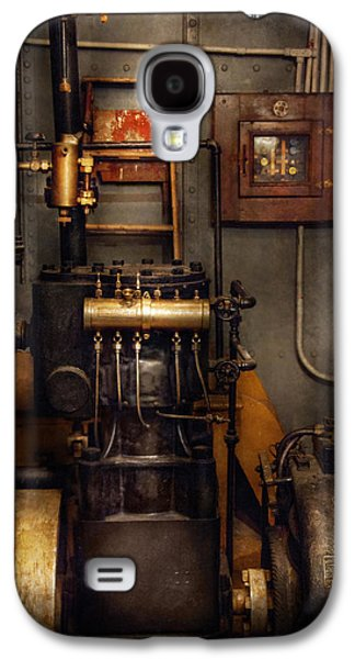 Mechanism Galaxy S4 Cases - Steampunk - Back in the engine room Galaxy S4 Case by Mike Savad