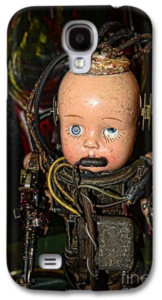 Ghastly Galaxy S4 Cases - Steampunk - Cyborg Galaxy S4 Case by Paul Ward