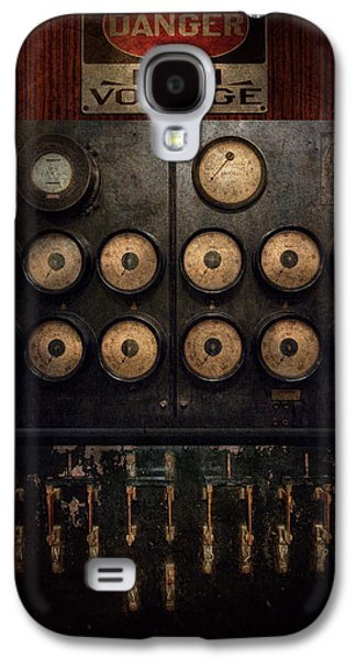 Steampunk - Galaxy S4 Cases - Steampunk - Electrical - Center of power Galaxy S4 Case by Mike Savad