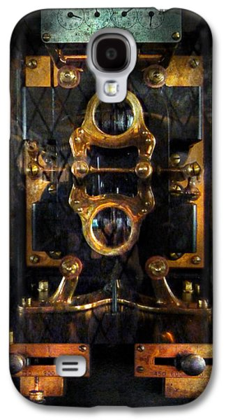 Mechanism Galaxy S4 Cases - Steampunk - Electrical - The power meter Galaxy S4 Case by Mike Savad