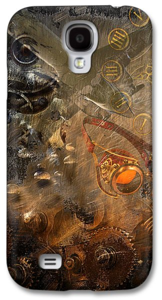 Component Photographs Galaxy S4 Cases - Steampunk Fantasy Galaxy S4 Case by Davina Washington