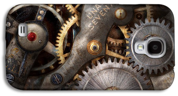 Personalize Galaxy S4 Cases - Steampunk - Gears - Horology Galaxy S4 Case by Mike Savad