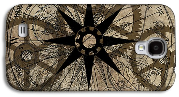 Machinery Galaxy S4 Cases - Steampunk Gold Gears II  Galaxy S4 Case by James Christopher Hill