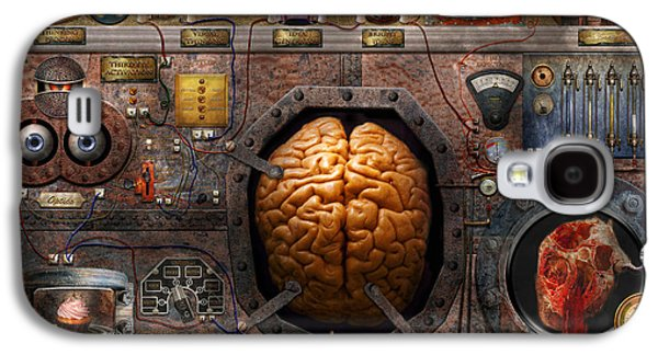 Recently Sold -  - Fantasy Photographs Galaxy S4 Cases - Steampunk - Information overload Galaxy S4 Case by Mike Savad