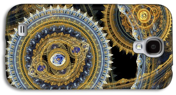 Mechanism Galaxy S4 Cases - Steampunk machine Galaxy S4 Case by Martin Capek