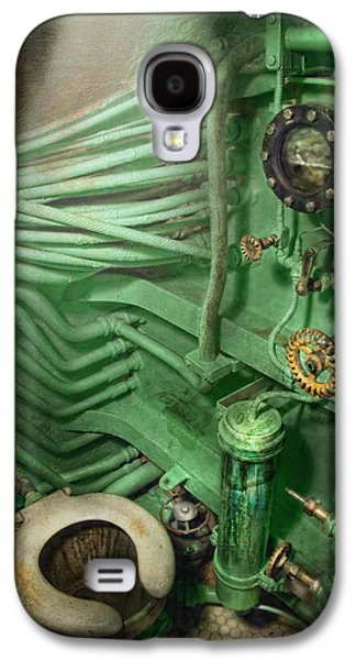 Steampunk Galaxy S4 Cases - Steampunk - Naval - Plumbing - The head Galaxy S4 Case by Mike Savad