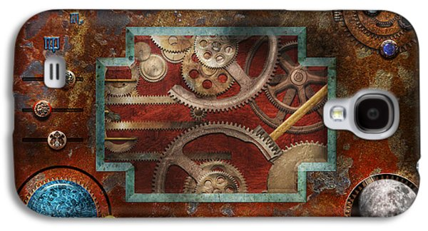 Mechanism Galaxy S4 Cases - Steampunk - Pandoras box Galaxy S4 Case by Mike Savad
