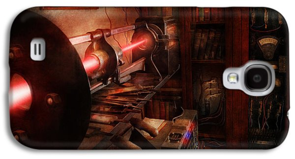 Mechanism Galaxy S4 Cases - Steampunk - Photonic Experimentation Galaxy S4 Case by Mike Savad