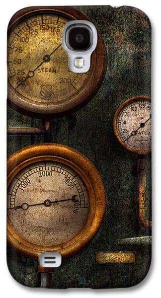 Steampunk - Galaxy S4 Cases - Steampunk - Plumbing - Gauging success Galaxy S4 Case by Mike Savad