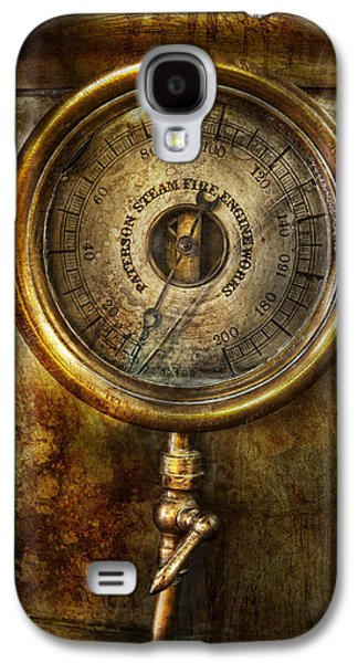 Mechanism Galaxy S4 Cases - Steampunk - The pressure gauge Galaxy S4 Case by Mike Savad