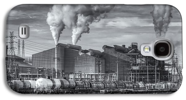 Enterprise Galaxy S4 Cases - Steel Mill and Freight Yard II Galaxy S4 Case by Clarence Holmes