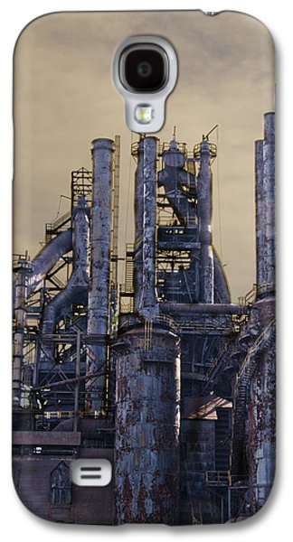 Bethlehem Galaxy S4 Cases - Steel Mill - Bethlehem Pa Galaxy S4 Case by Bill Cannon
