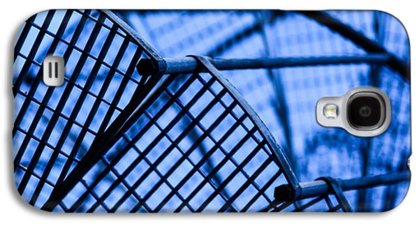 Development Mixed Media Galaxy S4 Cases - Steel stairs  closeup Galaxy S4 Case by Toppart Sweden