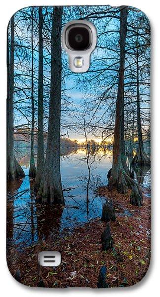 Alga Galaxy S4 Cases - Steinhagen Reservoir Vertical Galaxy S4 Case by David Morefield