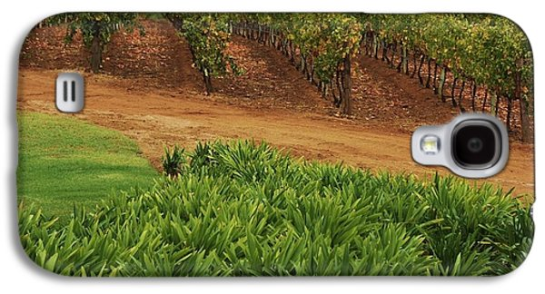 Stellenbosch Galaxy S4 Cases - Stellenbosch vineyard Galaxy S4 Case by Mark Beecher