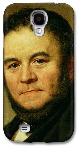 Headshot Galaxy S4 Cases - Stendhal Galaxy S4 Case by Johan Olaf Sodermark