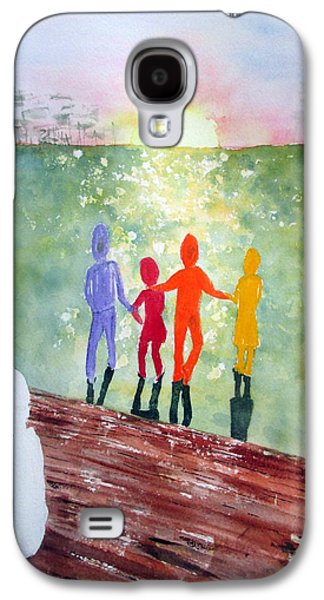 Discrimination Paintings Galaxy S4 Cases - Stepchild in the Promised Land Galaxy S4 Case by Joann Perry