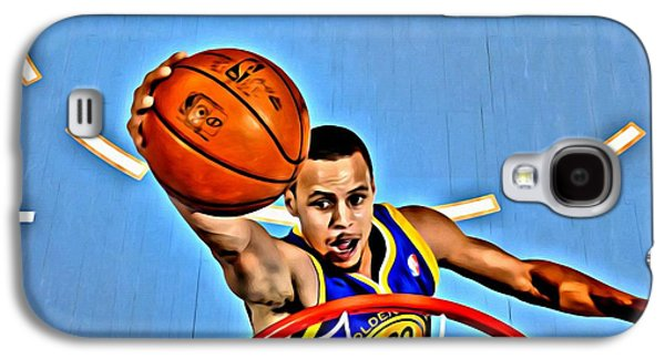 Best Sellers -  - Slam Galaxy S4 Cases - Steph Curry Galaxy S4 Case by Florian Rodarte