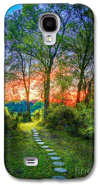 Stepping Stones To The Light Galaxy S4 Case by Marvin Spates