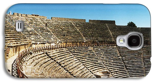 Ancient Galaxy S4 Cases - Steps Of The Theatre In The Ruins Galaxy S4 Case by Panoramic Images