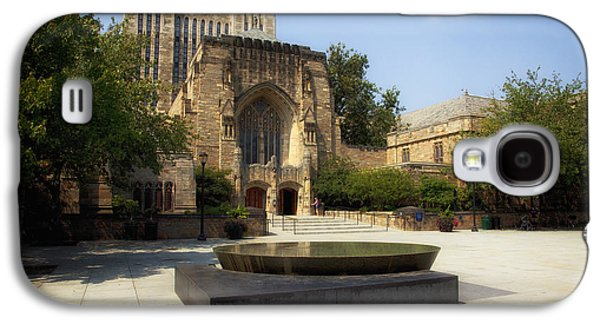 Sterling Galaxy S4 Cases - Sterling Memorial Library and the Womens Table - Yale University Galaxy S4 Case by Mountain Dreams