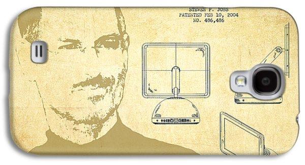Steve Jobs Imac  Patent - Vintage Galaxy S4 Case by Aged Pixel