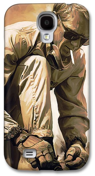 Steve Mcqueen Artwork Galaxy S4 Case by Sheraz A