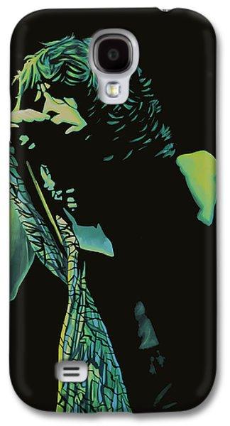 Steven Tyler Paintings Galaxy S4 Cases - Steven Tyler 2 Galaxy S4 Case by Paul  Meijering