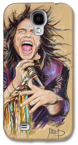 Steven Tyler Galaxy S4 Case by Melanie D